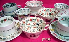 Fortune telling teacups! I didn't know you existed until a few hours ago, but now I want all of you.  (Fancy a cup of tea?, via Flickr.)