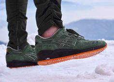 Ronnie Fieg x Asics Gel Lyte 3 Militia Initiative - 2016 (by Corentin Cerruti)