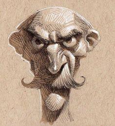 Cartoon Sketches, Cool Sketches, Sketchbook Drawings, Art Drawings, Academic Drawing, Art Beat, Caricature Drawing, Drawing Expressions, Fantasy Drawings