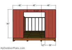 This step by step diy project is about shed plans. I have designed this large storage shed with a gable roof, so you can organize your tools or to use it even as a workshop.