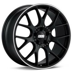 BBS CH-R (Black w/Polished Stainless Lip)