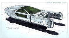 Blade Runner 2049 Concept Art – Les dessins préparatoires du film (image)
