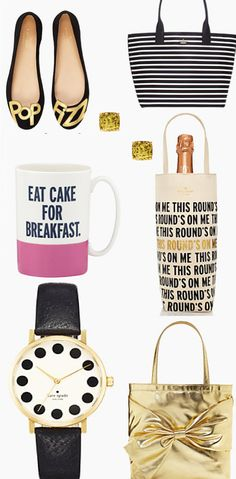 So many cute gift ideas at kate spade new york right now! enjoy 25% off everything with code: BEMERRY - ends 11/16. Click through for details. http://rstyle.me/n/b3c7mn2bn