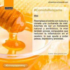 #OrinoquiaparaHoy Es increible como ayuda un poquito de miel a reducir el estres #ComidaRelajante