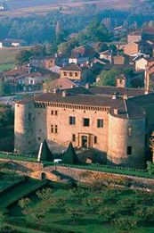 Chateau de Bagnols, Burgandy Where I stayed while in France.