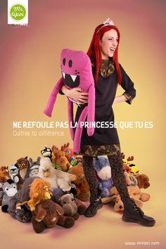 Robe Margot   Ne refoule pas la princesse que tu es.  Cultive ta différence sur www.mrtipoi.com