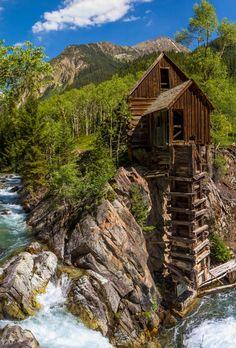 """Mill"" - Water Turbine. Crystal, Colorado"