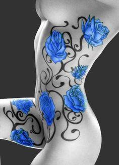 Blue Roses.......