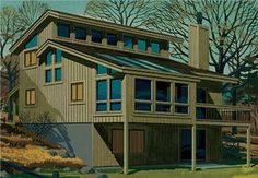 Passive Solar Homes | ... passive solar energy house designs ncsea 1979 passive solar good cents I think this is the one!