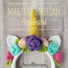 Magical Unicorn Headband - FREE PATTERN