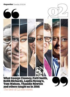#editorialdesign #newspaperdesign #graphicdesign #design #theguardian Guardian g2 cover