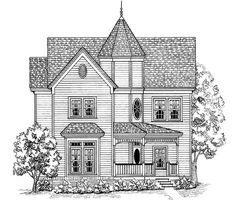 Swap master tubs with closet and add third story guest media and fitness. Eplans Victorian House Plan - Come Home to Comfort - 1947 Square Feet and 3 Bedrooms(s) from Eplans - House Plan Code HWEPL12693
