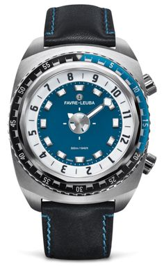 Favre-Leuba Raider Harpoon Watch With Slick Way Of Showing The Time Watch Releases