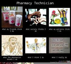Pharmacy Technician meme (that I made)