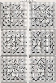 celtic Verdant alphabet 3