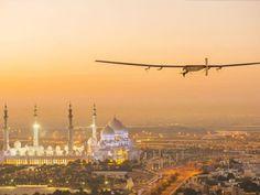 Solar plane to attempt global flight