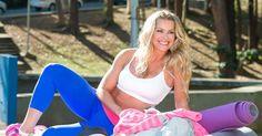 Aos 38 anos, Karina Bacchi revela dica para manter a boa forma