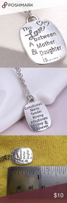 Cheap Jared MotherDaughter Necklaces Hearts with Diamonds Sterling