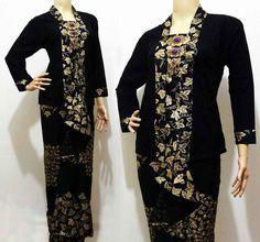 Dress Batik Sarawak Songket Modern  Model Baju Batik  Pinterest