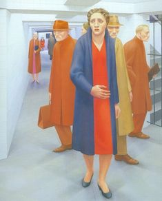 (August 1920 – March was a figurative painter whose works are associated with the Magic realism and Social realism movements. Edward Hopper, European Paintings, Contemporary Paintings, Coney Island, Jared French, Social Realism Art, George Tooker, Mass Culture, Cleveland Museum Of Art