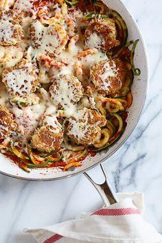 Shrimp Zoodles Parmesan for Two (via Bloglovin.com )