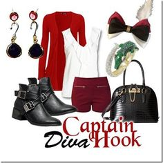 Disney Bounding With The Disney Fashionista- The Captivating Captain Hook