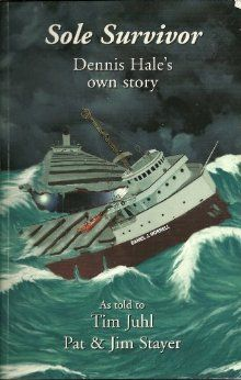 Sole Survivor: Dennis Hale's Own Story, Read and reread ~ amazing Great Lakes Shipwrecks, Edmund Fitzgerald, The Fitz, Great Lakes Ships, Unexplained Mysteries, Sad Pictures, Lake Huron, Water Crafts, Rafting
