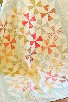 Saltwater Taffy quilt by Fig Tree Quilts - everything she does is wonderful!!!