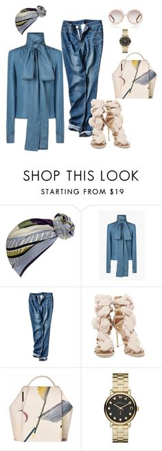 """""""IT!"""" by maria-laura-correa-da-silva ❤ liked on Polyvore featuring Emilio Pucci, Balmain, Marc by Marc Jacobs and Chloé"""