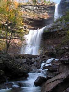 Kaaterskill Falls - Great place to hike up by Hunter Mountain.