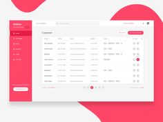 Getaco CRM – Customer list Great work from a designer in the Dribbble community; your best resource to discover and connect with designers worldwide. Dashboard Interface, Web Dashboard, Ui Web, Dashboard Design, Responsive Web, User Interface Design, Ui Design Mobile, Web Ui Design, Design Layouts