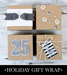 15 Awesome Holiday Gift Wrap Ideas