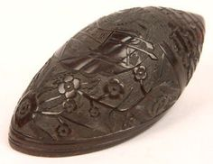 antique carved coconut shells - Google Search