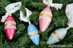 Easy Vintage Inspired Ornaments 15 Minute Craft