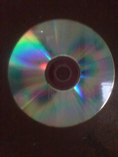 Day 6. Colors in a CD!