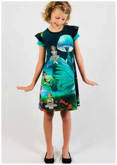 Girls Fun Tee Dress ADD ON PDF Pattern gives you the option to sew an individual and functional garment which is the perfect base garment for all seasons. Girls Fun, Check Fabric, Tee Dress, Learn To Sew, Pdf Sewing Patterns, Cool Tees, Workout Pants, Knitted Fabric, Cool Girl