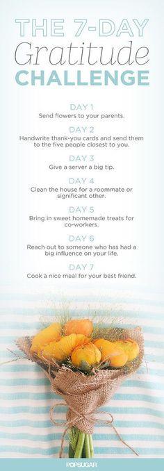 The 7-Day Gratitude Challenge