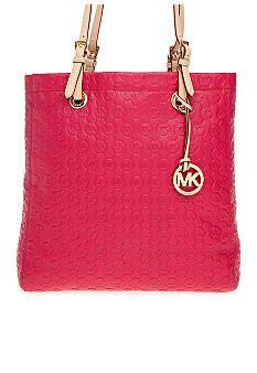 MICHAEL Michael Kors Jet Set Monogram Embossed Tote #belk #handbags