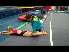 Working Presentation with Young Gymnasts   Swing Big!