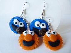 Cookie Monster and Elmo by amalie2.deviantart.com on @deviantART