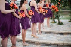 Beige or Nude - What Color Shoes to Wear with Purple Dress for Bridesmaids? - EverAfterGuide