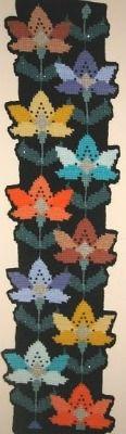 Amazing Tunisian crochet piece