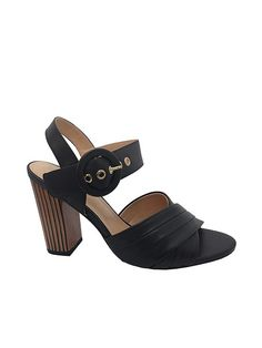 38c5aa8a40 NR Fashion Shoes · Sandálias Verão 2019 · Sandália Tiras Cruzadas Preta