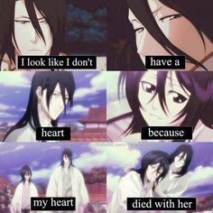 She and Rukia look so much alike that I can totally see why Byakuya had such a hard time looking at Rukia.