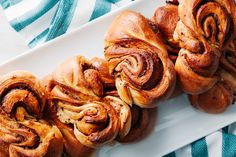 Swedish cardamom rolls Fika- Hero Image / Photo by Chelsea Kyle, Food Styling by Mindy Fox