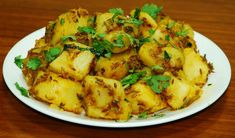 Quickly saute potatoes with some spices to make this delicious Indian dish.