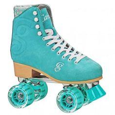 Patins Quad Roller Derby Candi Girl Carlin Seafoam (Espuma Do Mar)