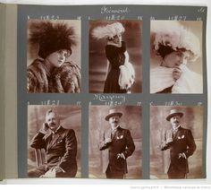 [Album Reutlinger de portraits divers, vol. 54] : [photographie positive]
