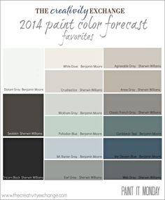 2014-Paint-Color-Forecast-Favorites-Paint-It-Monday-The-Creativity-Exchange.jpg (2328×2831)