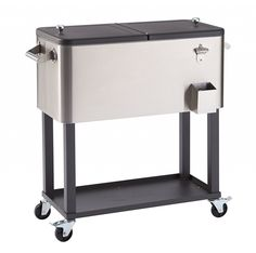 Outdoor Ice Chest Cart